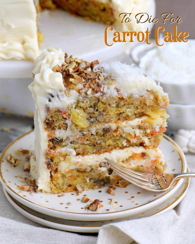 9 Delicious Carrot Cake Recipes to Enjoy Your Holiday with Your Family