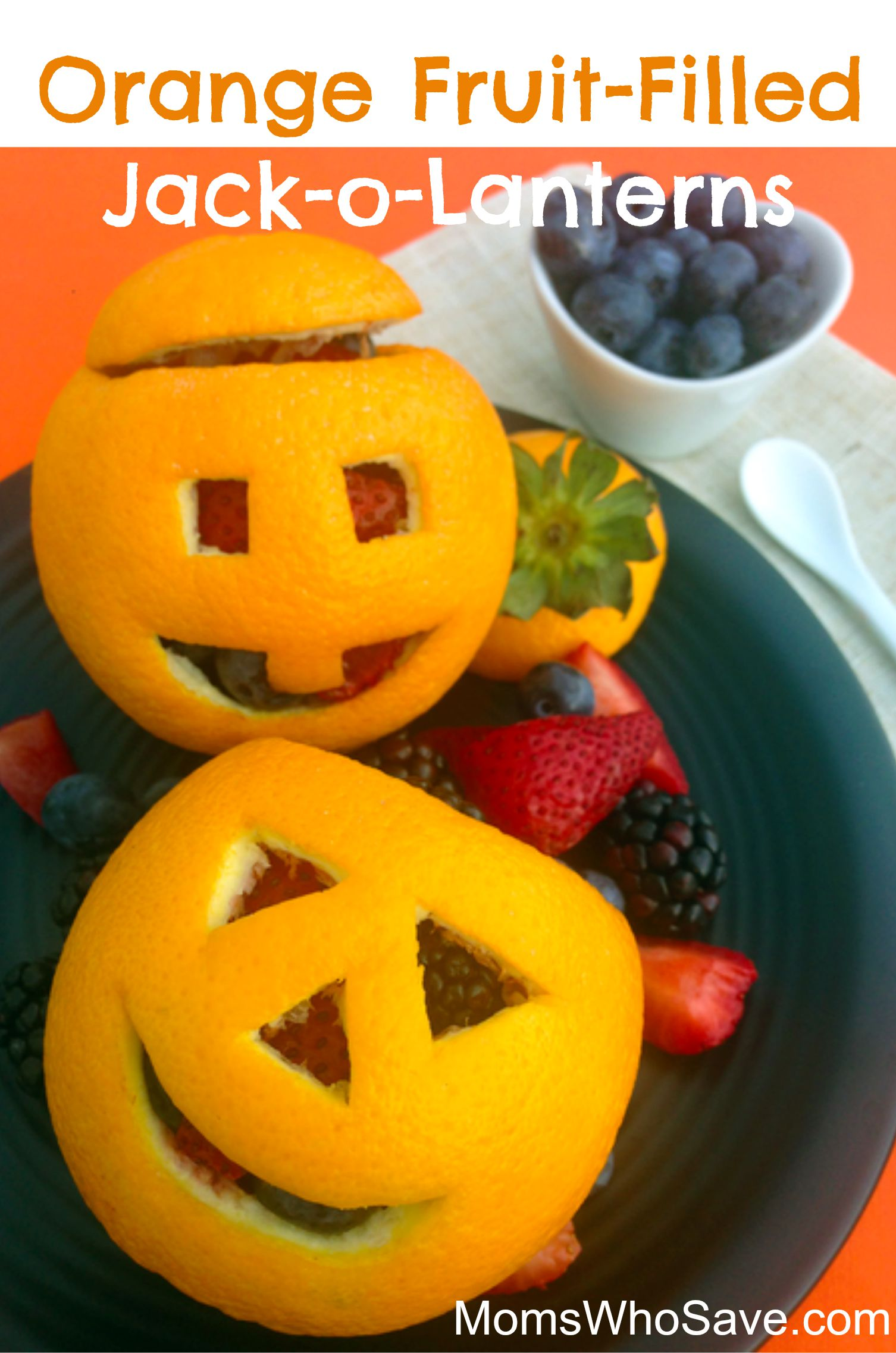 9 Fruit Halloween Treats