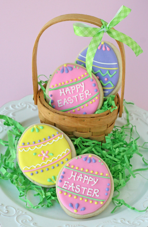 9 Adorable Easter Egg Cookies Recipes